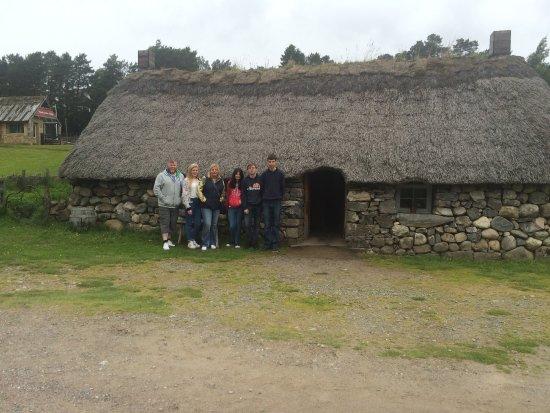 Highland Folk Museum: The Hoose