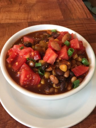 Under the Bodhi Tree: Three Bean Vegetable Chili with Island Corn
