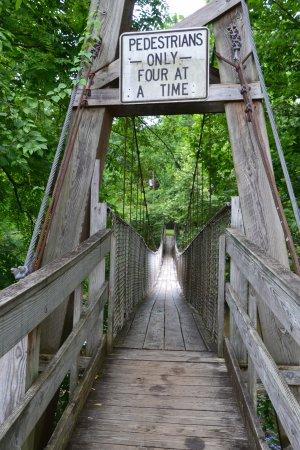 Townsend, TN: Swinging Bridge