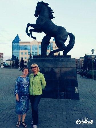 Nurlat, รัสเซีย: Центральная площадь
