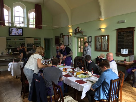 Harthill Cookery School : Lunch is served