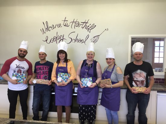 Harthill Cookery School : Gateway Peugeot Winners!
