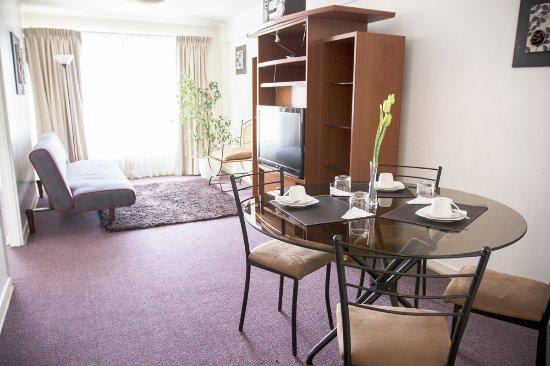 VO Bellas Artes Apartments: Linving comedor
