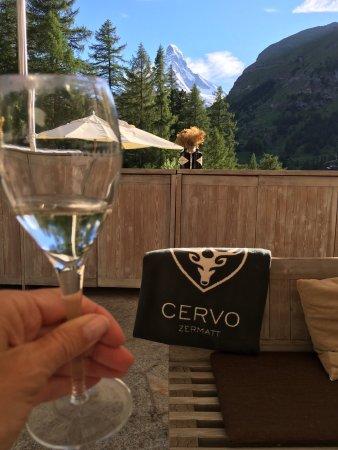 CERVO Zermatt: Fabulous hotel, great services, best views in Zermatt! Highly recommend!!