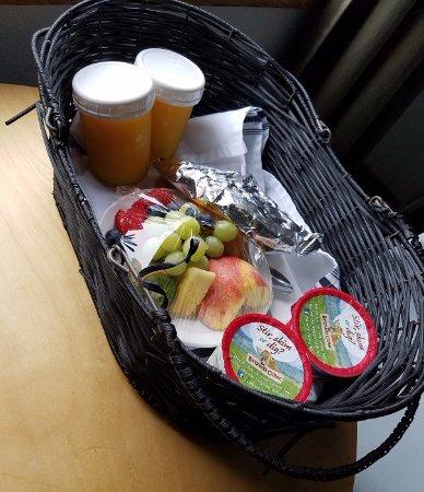 ลองบีช, วอชิงตัน: Breakfast basket