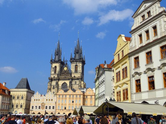 Grand Hotel Praha Old Town Square And