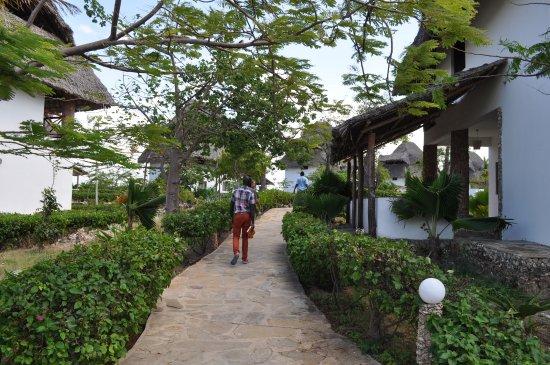 Jacaranda Beach Resort: Checking out the villas
