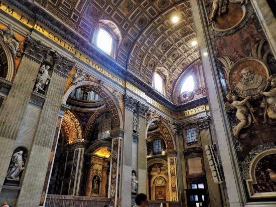 Magnifique peinture photo de basilique saint pierre for Exterieur basilique saint pierre