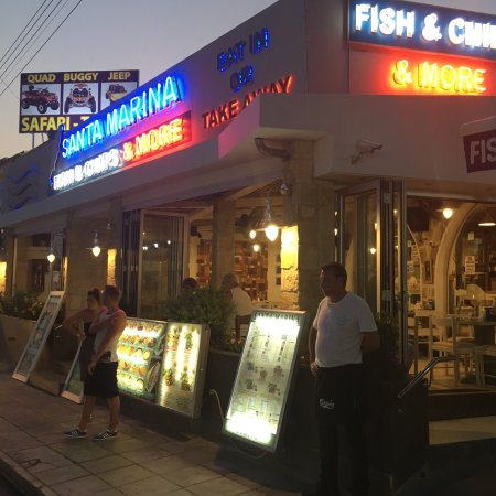Santa Marina Fish And Chips One Of The Best Restaurants That I Have Tried Since