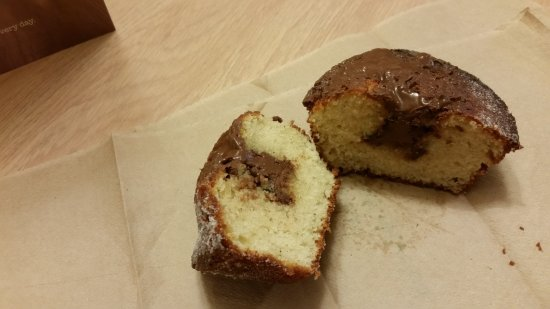Bea's of Bloomsbury - Russell Square: Nutella duffin