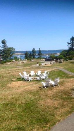 Newagen Seaside Inn: view from outside patio