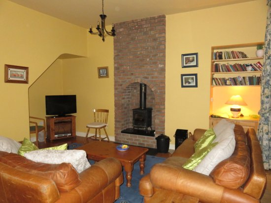County Kilkenny, İrlanda: Living room in the Coach House at Blanchville