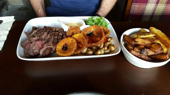 North Warnborough, UK: Wonderful meal... excellent food