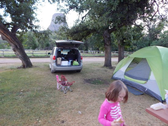 Devils Tower KOA: View from our campsite