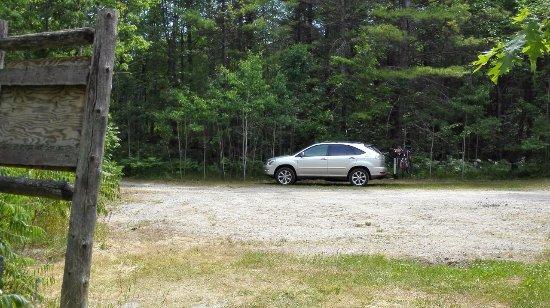 Port Severn, Kanada: Trail Head Parking Lot