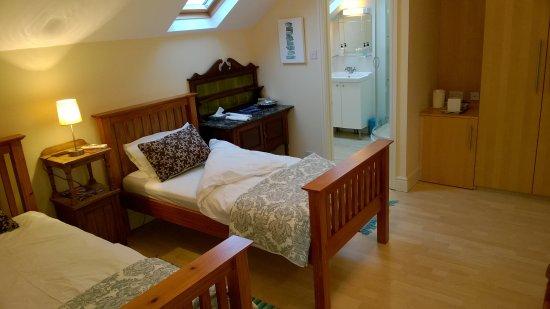 Seventyseven Bed and Breakfast : Twin Bedroom