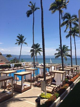 Crown Paradise Golden Resort Puerto Vallarta : fue tomada en el piso 1, desde mi habitación