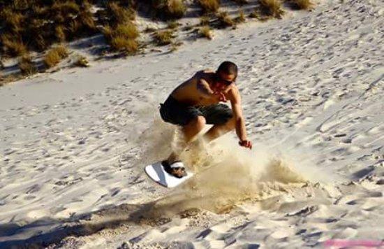 North Stradbroke Island, Australia: Great Sandboarding Experience