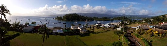 Savusavu Hot Springs Hotel: View from our room