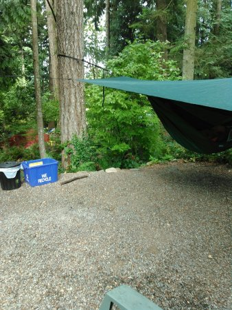 Garden Faire Campground : Best small mouth fishing in western Canada.