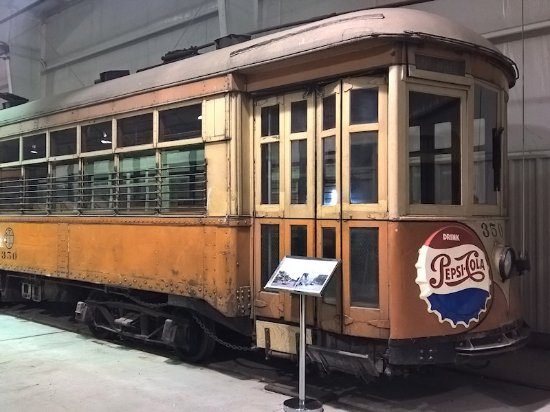 Pennsylvania Trolley Museum: Includes guided tour of about an hour through the large garage