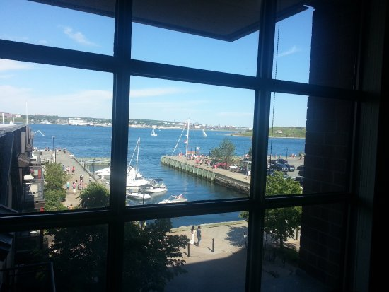 Premiere Suites - Bishop's Landing: View from the dining area