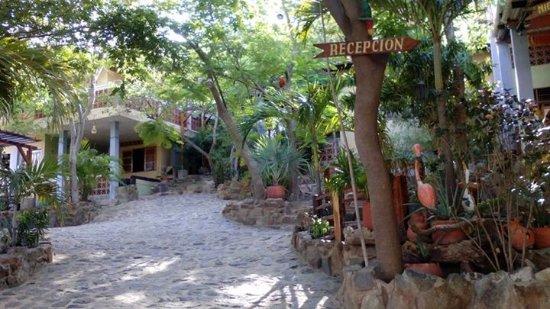 La Casa de Felipe: Entrada al hotel