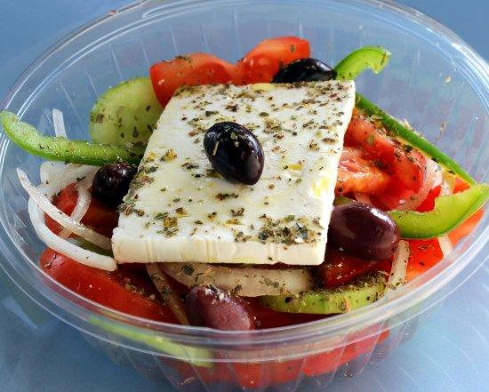 Port Saint Lucie, Φλόριντα: Greek salad