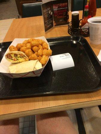 Wyandotte, โอคลาโฮมา: Breakfast burrito!