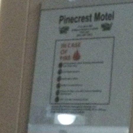Nipigon, Καναδάς: Pine Crest Motel