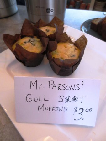 Norris Point, Canadá: Tasty and moist muffins with a cute name :)