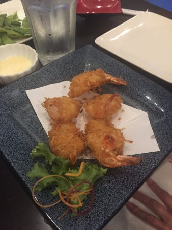 Babylon, NY: Coconut Shrimp appetizer