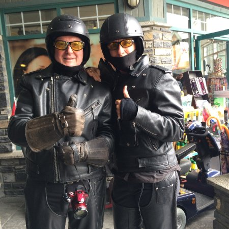 Jasper Motorcycle Tours Day Tours: All geared up and ready to go.