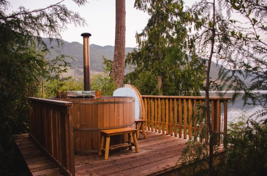 Sechelt, Καναδάς: Oceanview Hot Tubs