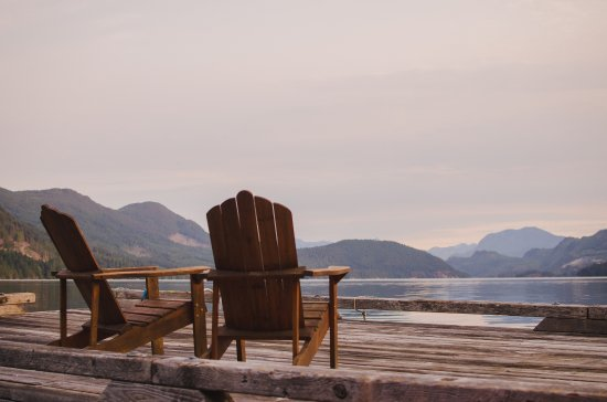 Sechelt, Canada: Relax on the dock