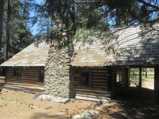 Wawona, CA: Artists Cabin, Pioneer Yosemite History Center, Yosemite National Park, CA