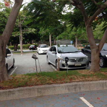 رويال كليف بيتش هوتل: удобная парковка для вашей машины, бесплатная кстати