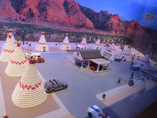 Scene from Route 66 made with Legos - Picture of LEGOLAND ...