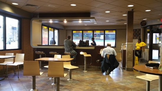Seating Area At Mcdonald S Downtown Pittsburgh