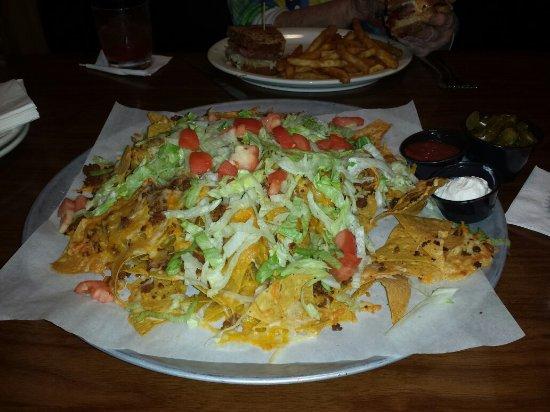 Breezy Point, Minnesota: Nachos appetizer