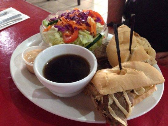 ดรายเดน, แคนาดา: Tender Beef Dip! Yummy!