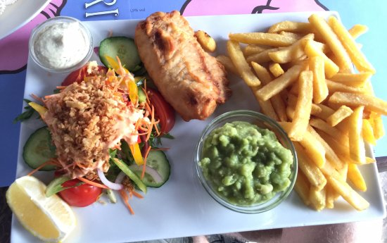 The Celtic Towers: Not So Good Fish and Chips
