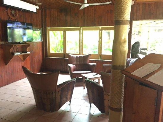 Aitutaki Lagoon Resort & Spa: Disused bar