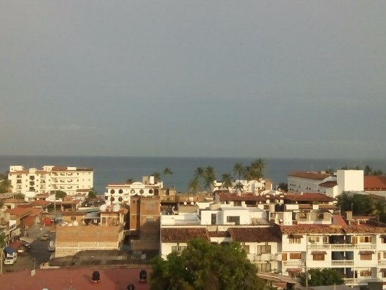 Paloma del Mar Hotel : vista desde el restaurante del hotel