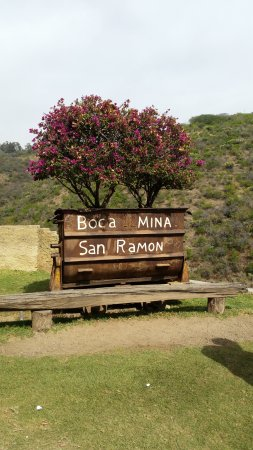 Bocamina SanCayetano: Welcoming sign