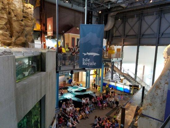 Picture Of Great Lakes Aquarium Duluth