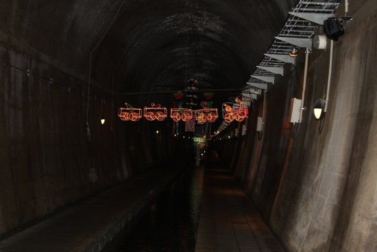 Takamori-machi, Giappone: 高森湧水トンネル公園 トンネル内1