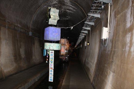 Takamori-machi, Giappone: 高森湧水トンネル公園 トンネル内2
