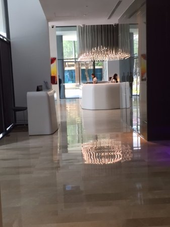Studio M Hotel: Reception Area...