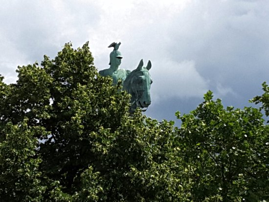 Reiterstandbild Kaiser Wilhelm II.